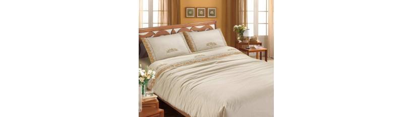 Luxury double bedding