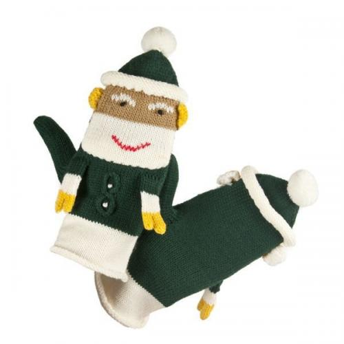 Women gloves with Santa
