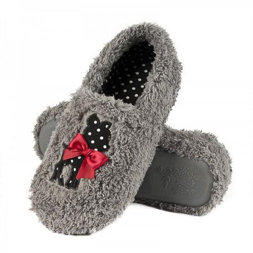 Women domestic fluffy slippers Deer