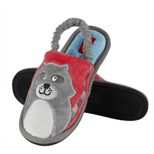 Kids' Slippers Raccoon