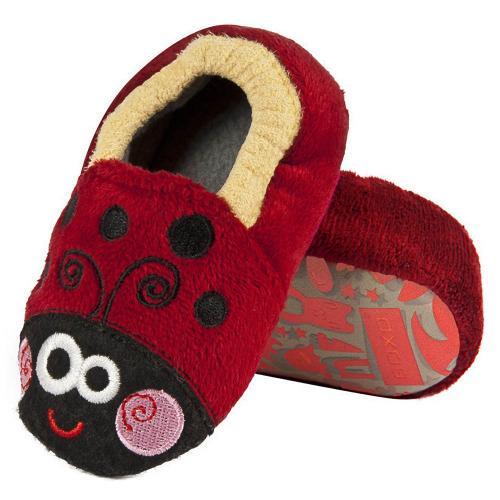 Baby's slippers Ladybug