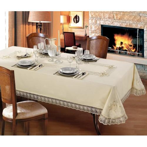 Луксозна покривка за маса и тишлайфер Marianna