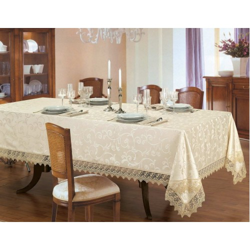 Luxury dining tablecloth Amanda