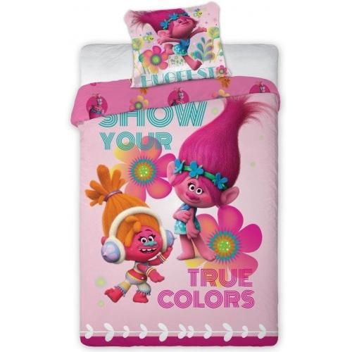 Детское постельное белье Тролли