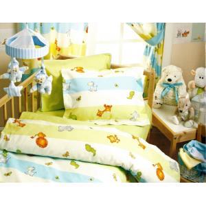 Спално бельо детско тач Малки животни