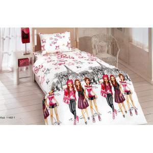 Юношески спален комплект Разходка в Париж